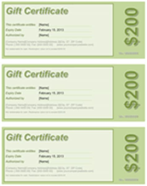 free gift certificate templates for mac gift certificate template free mac new calendar template