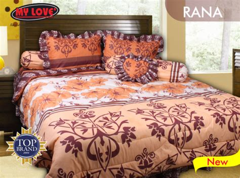 Sprei My Yara Edition Mylove Bed Covers Yara Edition Koleksi Distributor