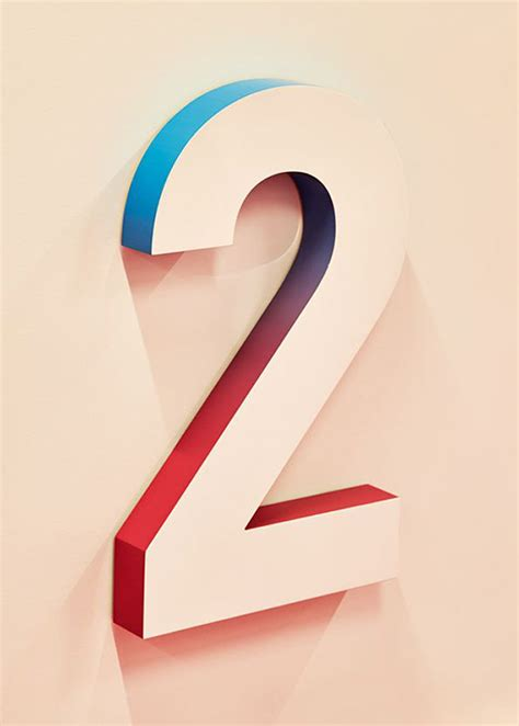 typography numbers design 58 beautiful numerical typography designs web graphic