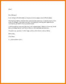 Free Resignation Letter Sle by 10 Two Weeks Notice Letter Exle Card Authorization 2017