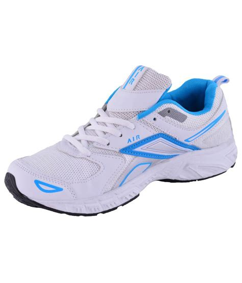 s faux fancy sports shoes white and blue sports price