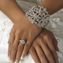 Wedding tiara wedding jewelry ideas vintage rhinestone bridal cuff
