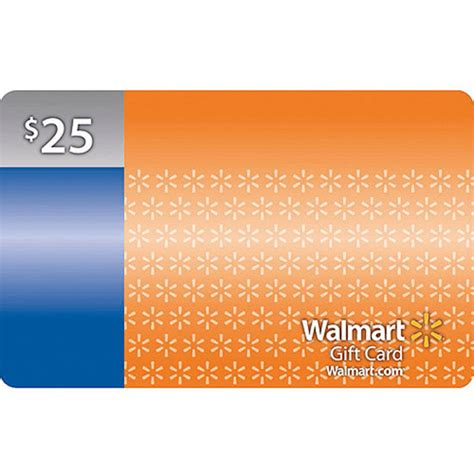 Gift Cards For Walmart - 25 walmart gift card walmart com