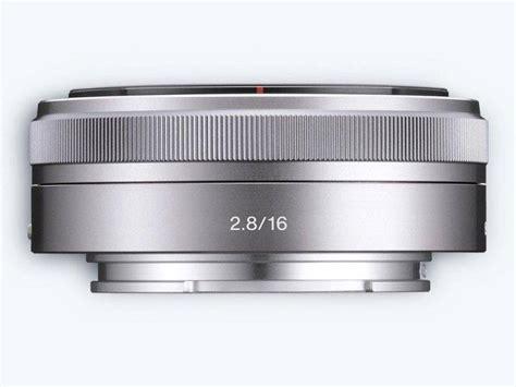 Sony Lens E 16mm F2 8 sony sel16f28 e mount aps c 16mm f2 8 prime lens