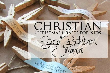 religious ornaments to make the of bethlehem christian craft tutorial
