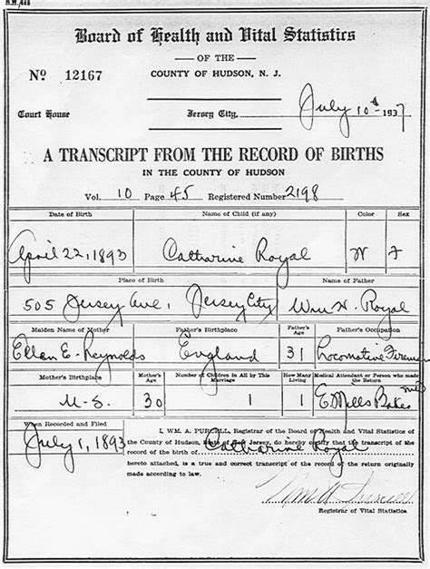 Tennessee Vital Records Birth Ancestors Vital Records Sle Birth And Marriage Certificates