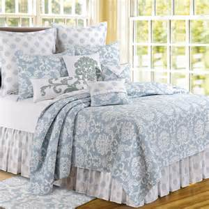 Blue Chambray Curtains Williamsburg Bedding Comforters Bedspreads By Colonial