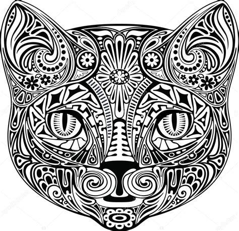 imagenes blanco y negro serigrafia gato blanco y negro vector de stock 169 kubera 34600723