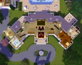 Sims 3 House Design Plans Mod The Sims The Manor Estate