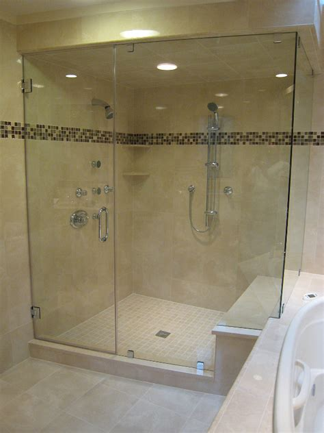 Installing Shower Door Installing Frameless Shower Doors Cost Of Frameless Shower Doors Home Design By