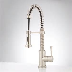 signature hardware kitchen signature hardware bandera kitchen faucet with pull down