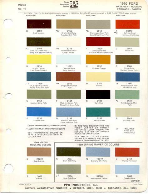 1970s auto paint ford classic vintage paint 1970s