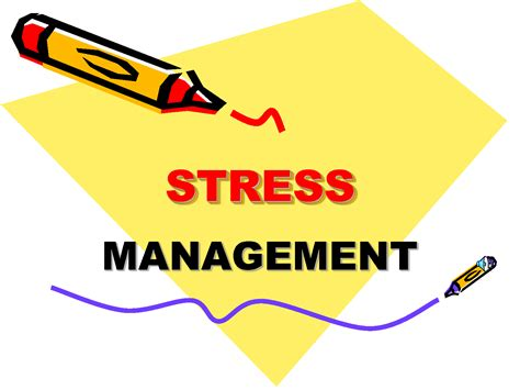 stress relief stress management lessons tes teach