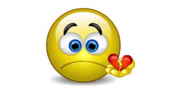 You broke my heart talking emoticon facebook symbols and chat