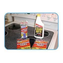 how to clean schott ceran cooktop ceramic cooktop cleaner pads cerama bryte 11 set