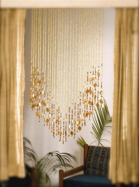 Beaded curtains   add a charming feature in your home