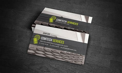 pc notebook business card template 187 free download 187 ct00003