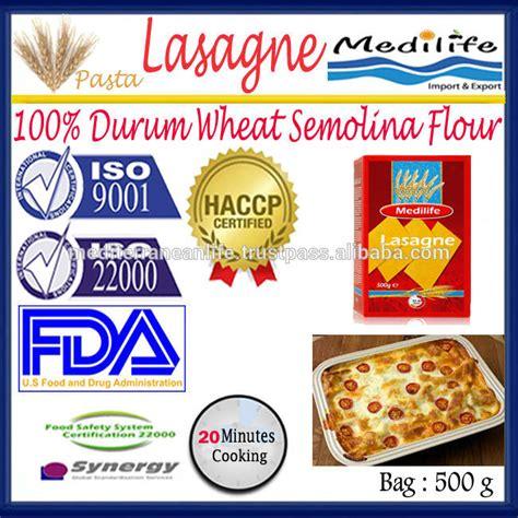 Semolina Flour Semolina Pasta Flour Tepung Semolina 500 Gram 100 durum wheat semolina flour lasagne macaroni high