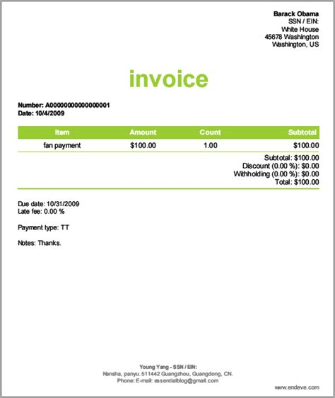 Another 12 Websites To Create Invoices Online For Free Self Build Website Templates