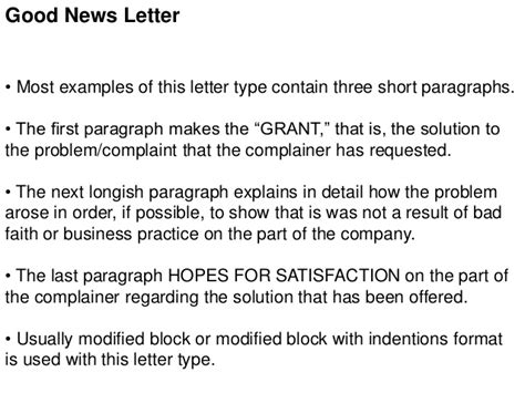 types of business letters
