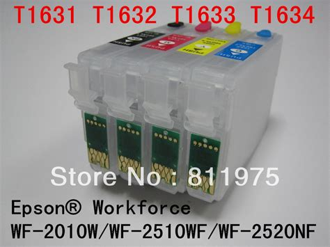 chip resetter for epson wf 2540 1621 t163 refillable ink cartridge for epson workforce