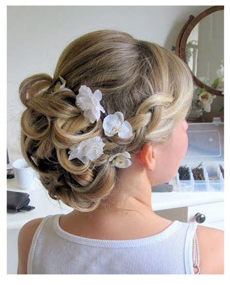 Wedding Hair Updo With Plaits by Wedding Hair Accesory Inspiration See How We Styled Our