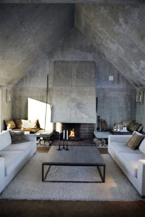interior concrete walls 30 stylish and inspiring industrial living room designs