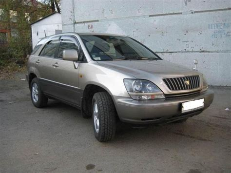 Toyota Car 1998 1998 Toyota Harrier Pictures