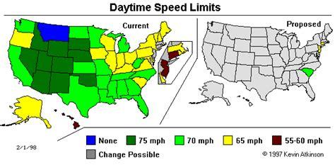 speed limit maps