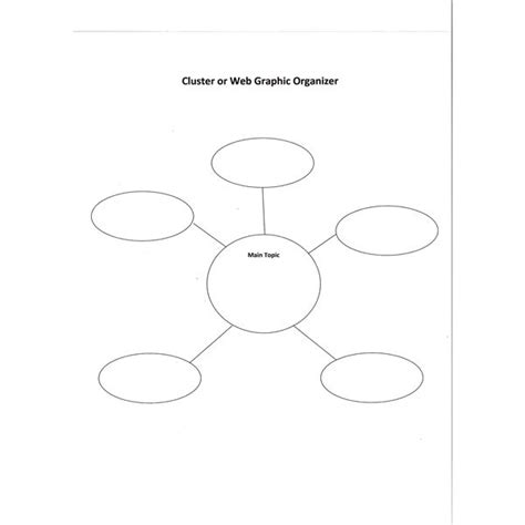12 Web Graphic Organizer Images Writing Web Graphic Organizer Word Web Graphic Organizer And Cluster Word Web Template