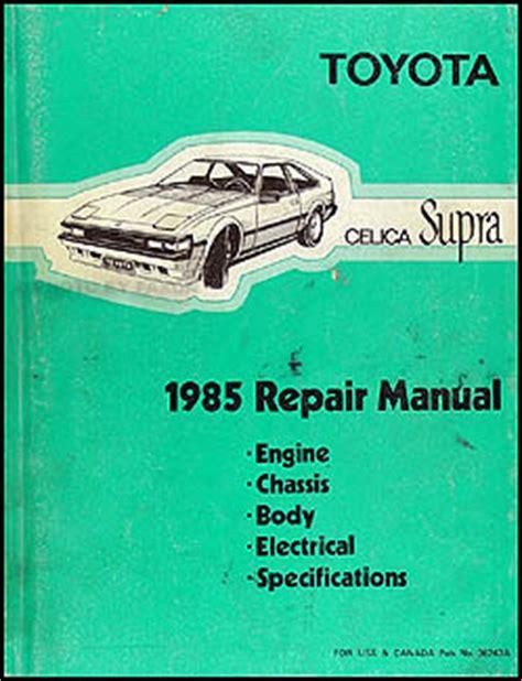 auto manual repair 1984 toyota celica engine control search