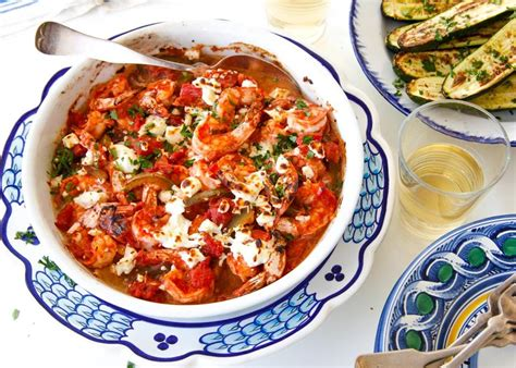 printable greek recipes recipe for greek style shrimp with tomato sauce and feta