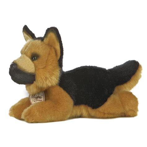 german shepherd stuffed animal realistic stuffed german shepherd 8 inch plush by