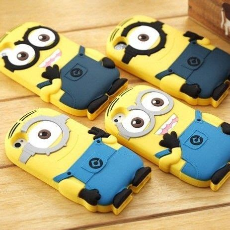 Soft Blue Superman Iphone 6s despicable me 2 minions soft cover for ipod
