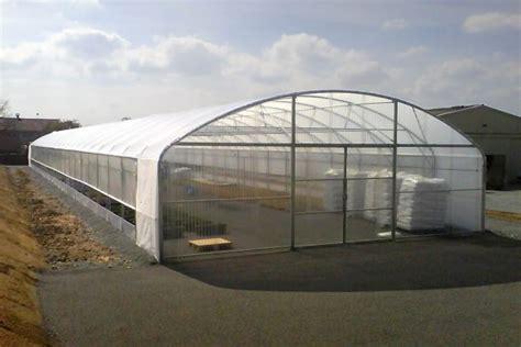 serre horticole en verre d occasion serre tunnel 9 60 m sc serres val de loire