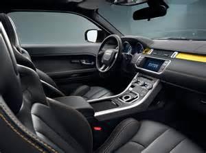 Land Rover Evoque Interior 2013 Land Rover Range Rover Evoque Pure Coupe Sport