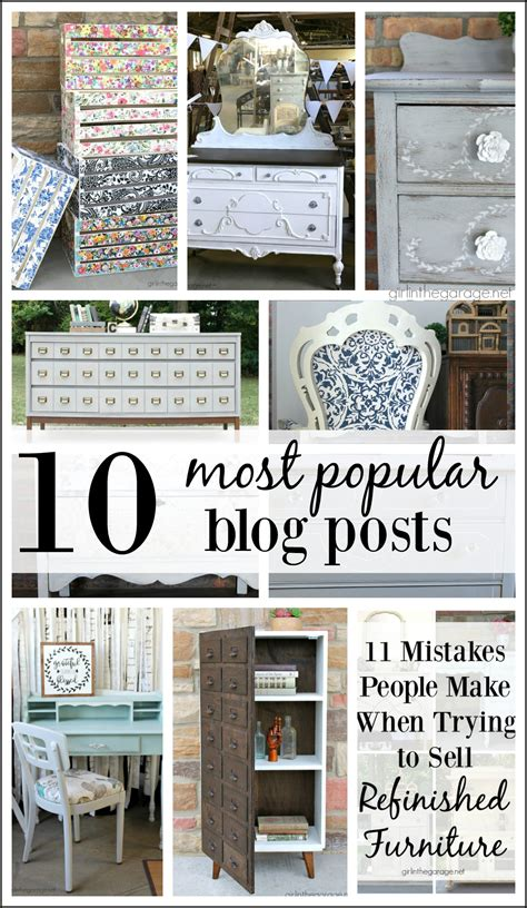 most popular home decorating blogs most popular blog posts of 2017 girl in the garage 174