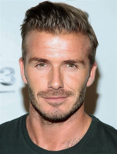 what hair suits a strong chin david beckham height weight body statistics trivia