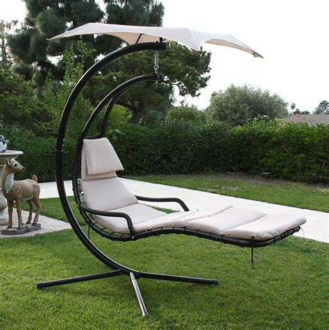 Chaise Longue Suspendue De Jardin