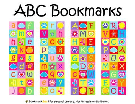Christmas Card Ideas printable abc bookmarks