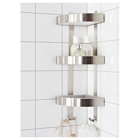 bathroom corner wall units rust resistant stainless steel 3 tier bathroom corner wall