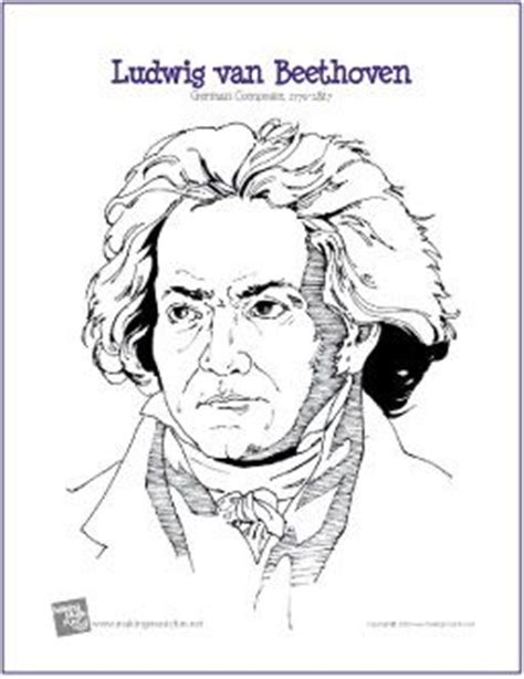 classical music coloring pages 17 best images about music composers on pinterest
