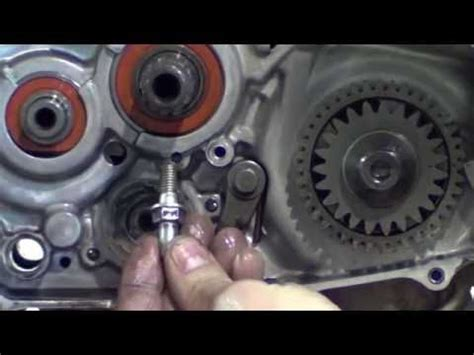 honda crf clutch kick starter  gear shift dis