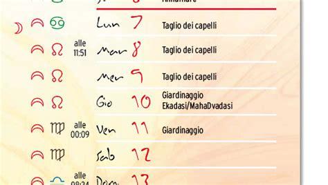 L Calendario Lunare Calendario Lunare Capelli America S Best Lifechangers