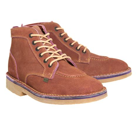 Kickers Zapato Suede Brown Murah 3 kickers legendary boots brown suede boots