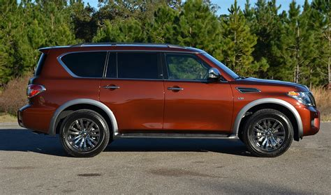 nissan armada platinum 2018 nissan armada platinum reserve 4 215 4 review test drive