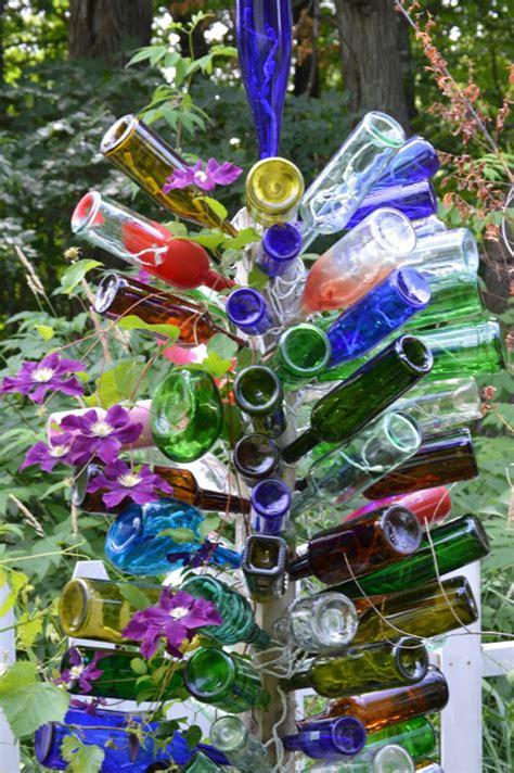 how to make a wine bottle tree 37 amazing diy wine bottle crafts diy