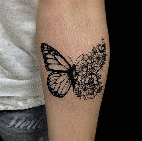 tattoo butterfly and flowers gorgeous two of my faves flutterby meets flowers