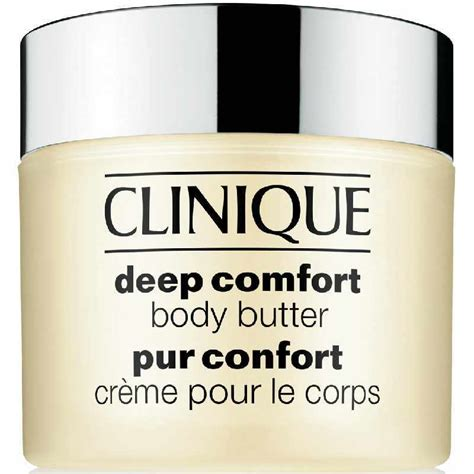 clinique deep comfort body lotion clinique deep comfort body butter 200 ml 39 70