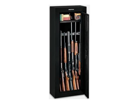 stack on steel security 8 gun cabinet green mpn